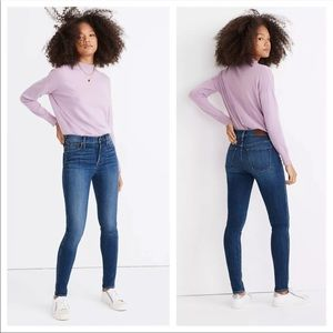 Madewell High Riser Skinny Jeans size 29